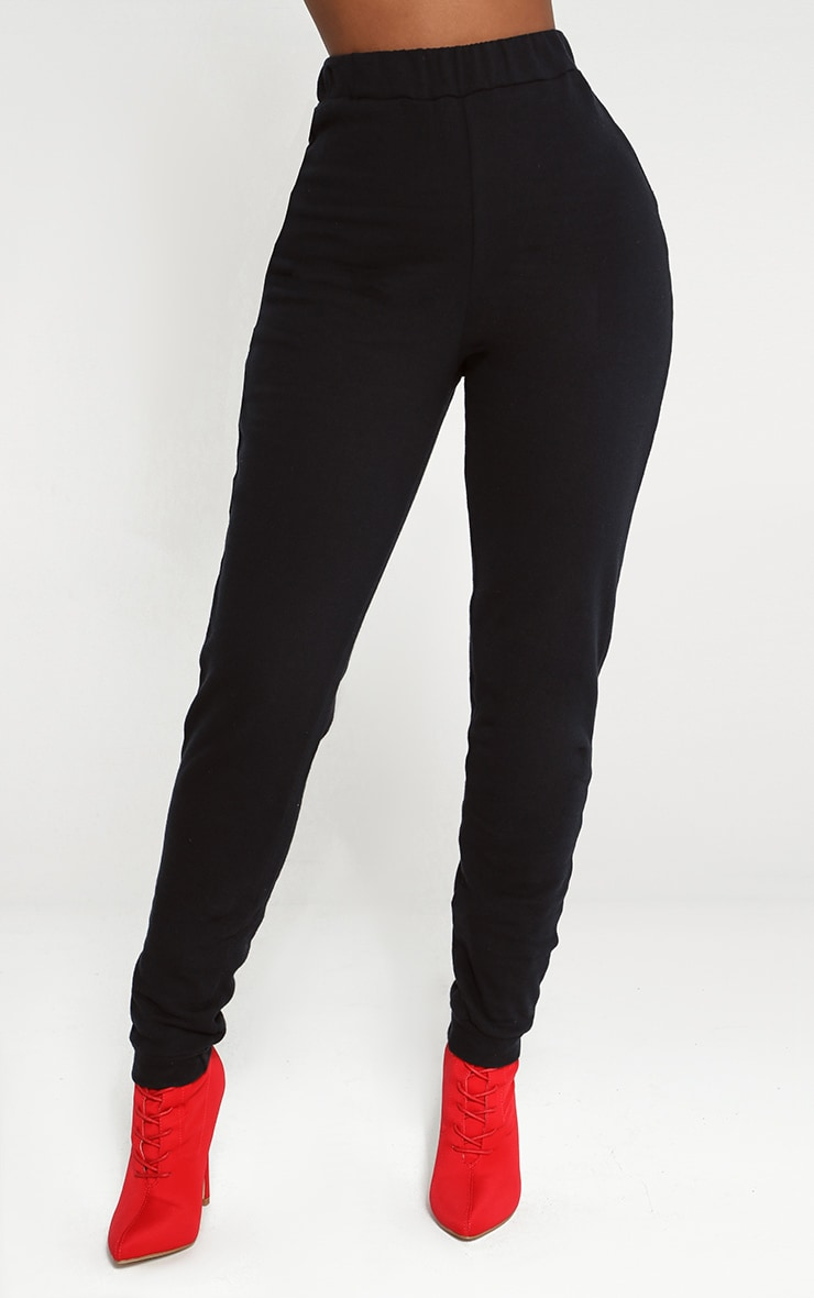 Shape Black Elastic Bottom Joggers 2