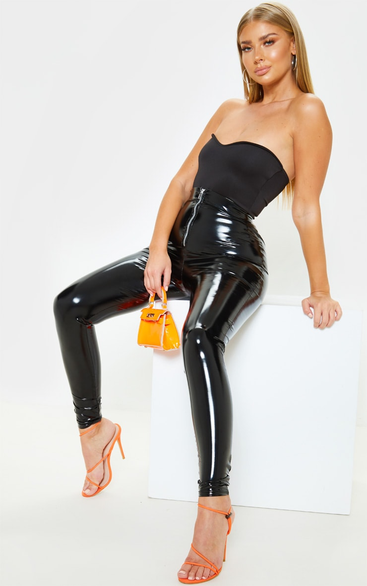Black Sweetheart Scuba Bodysuit 3