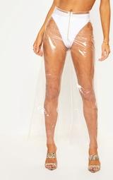 Transparent Zip Front Trouser 3