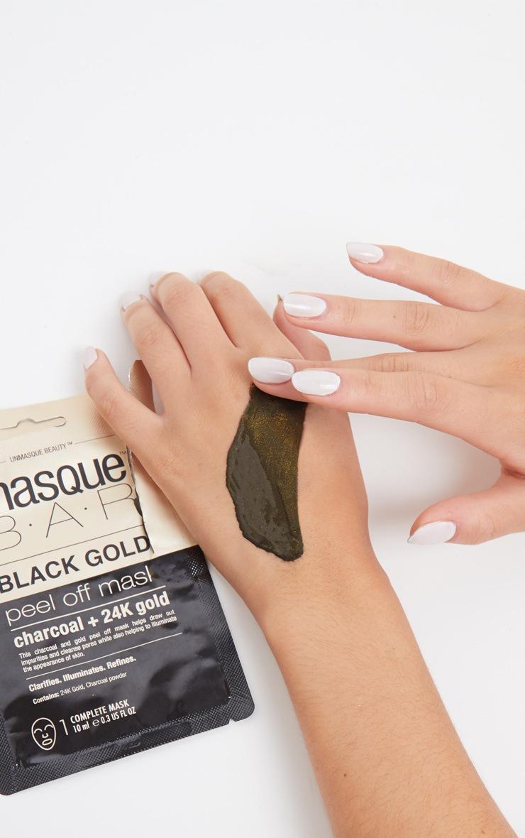 MasqueBar Charcoal 24K Gold Peel Off Mask 2