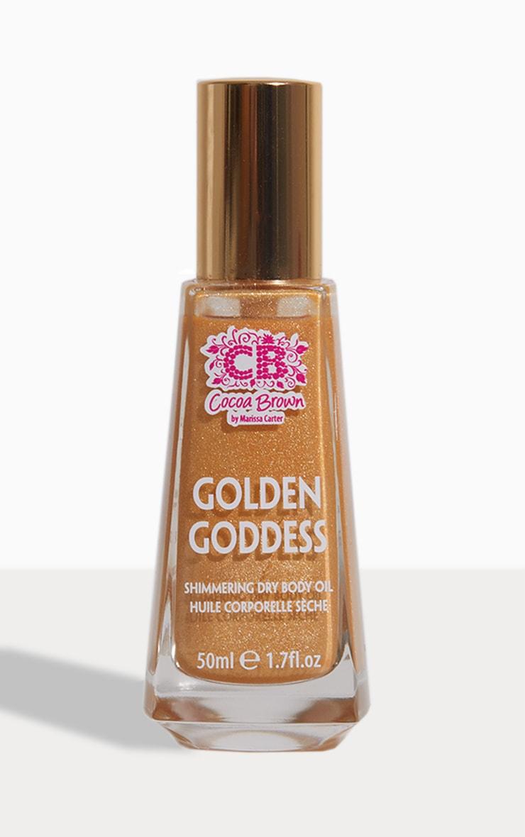 Cocoa Brown Golden Goddess Tanning Oil 1
