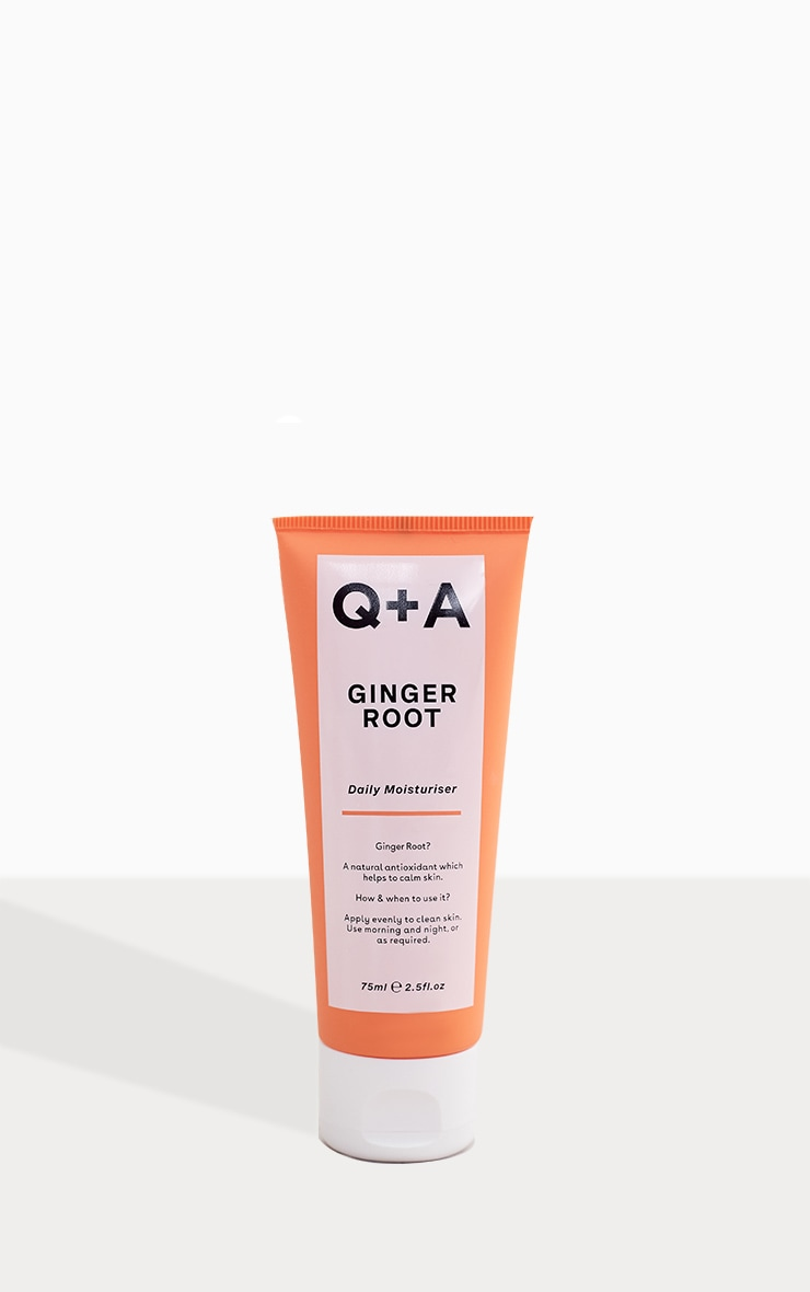 Q+A Ginger Root Daily Moisturiser 75ml 2