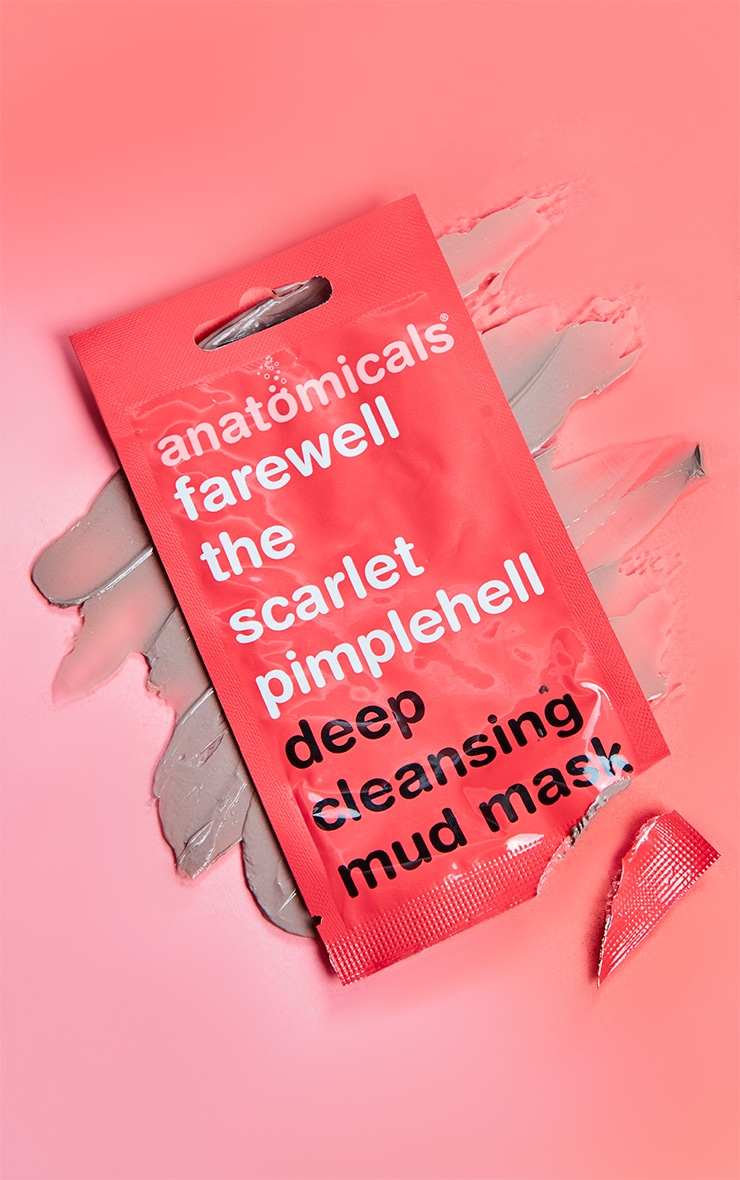 Anatomicals Farewell The Scarlet Pimplehell Face Mask 1
