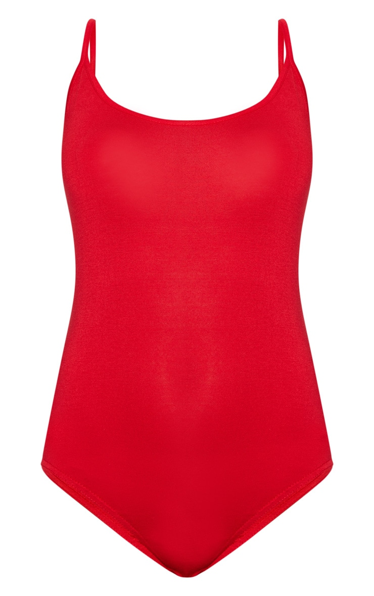 Basic Red Bodysuit 3