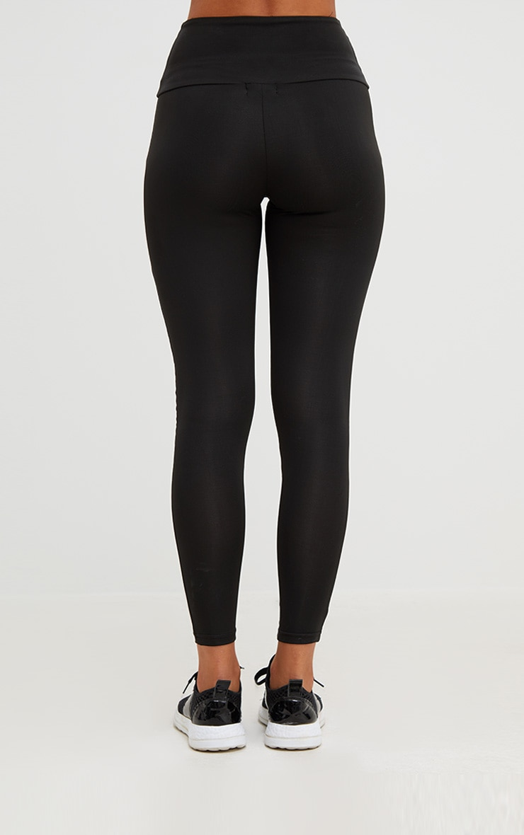 Black Corset Detail Leggings 5