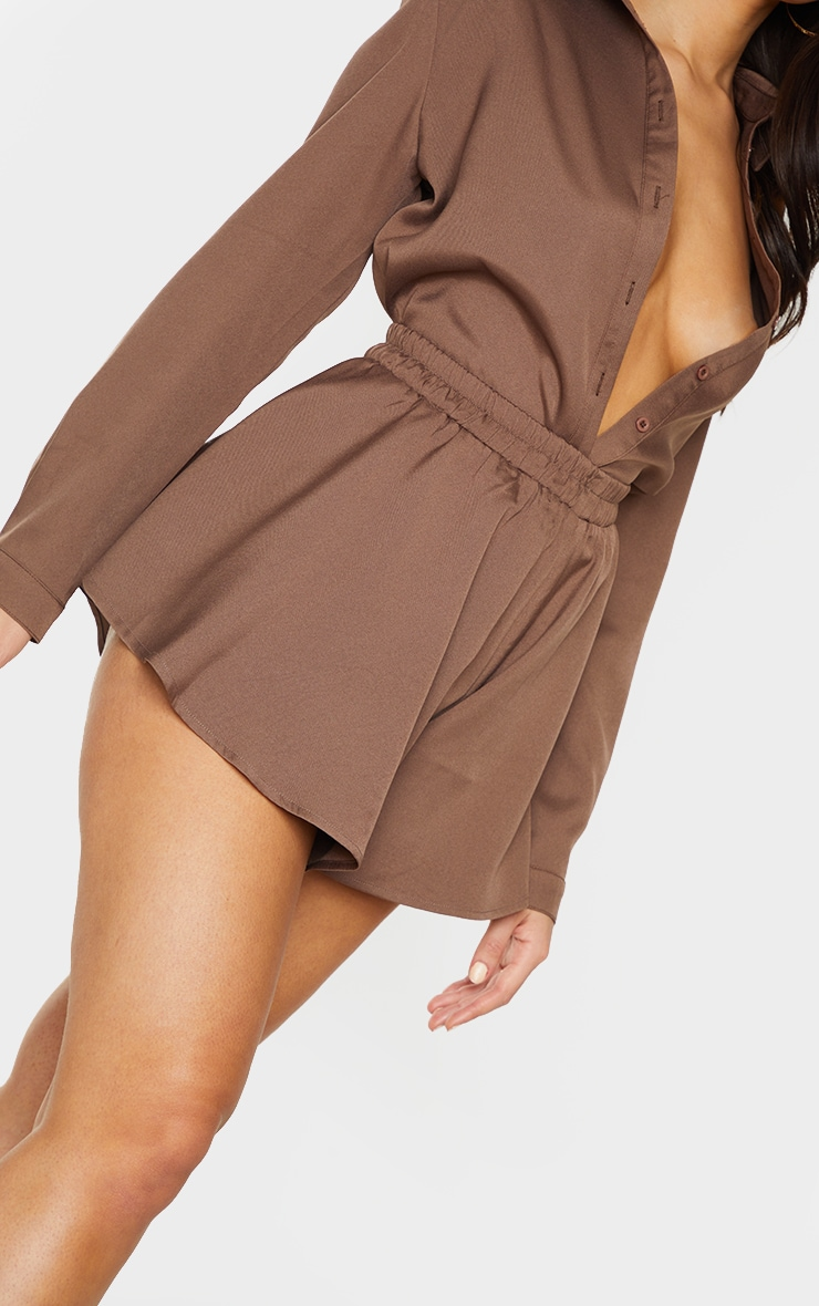 Mocha Floaty Shorts 5