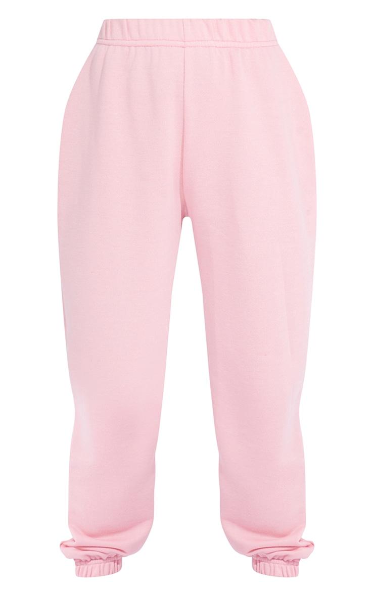 Petite Dusty Pink Basic Cuffed Hem Joggers 5