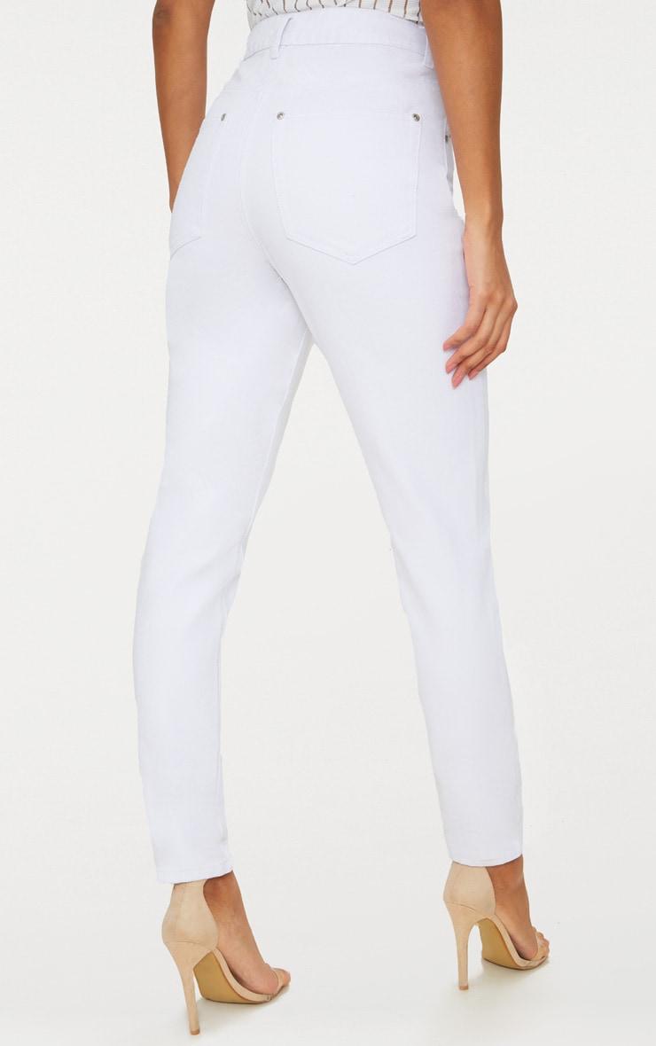 Mom White Jean 5