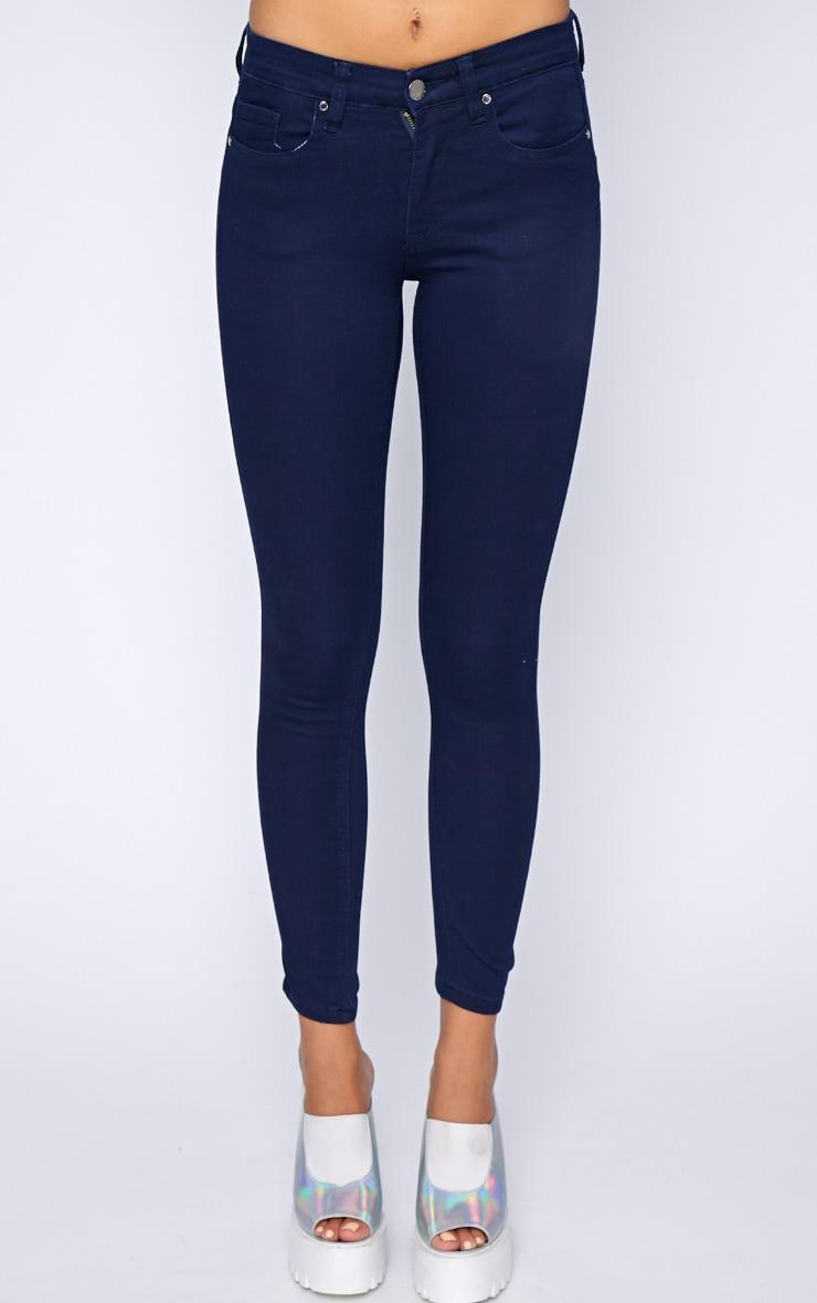 Kimmy Navy Skinny Jeans 5