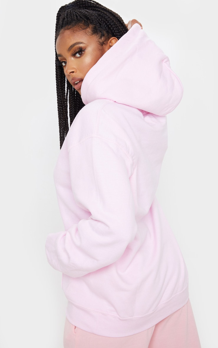 Light Pink Ultimate Oversized Hoodie 2