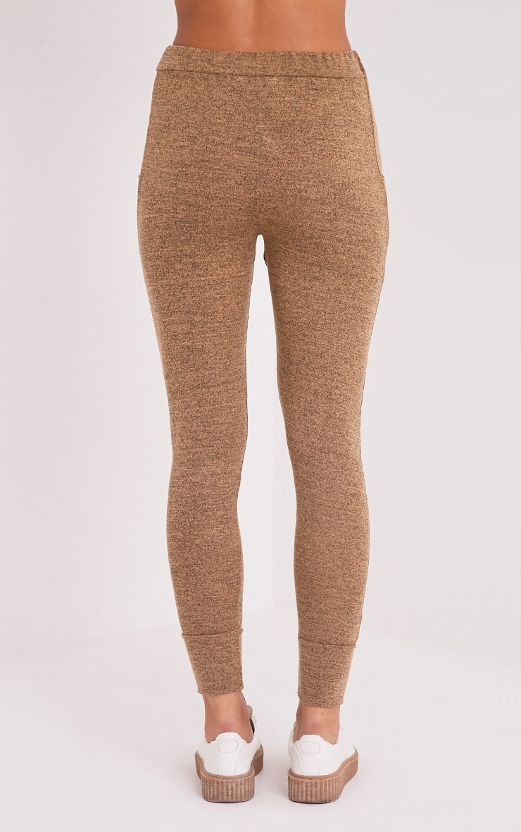 Haree Camel  Casual Tracksuit Bottoms 4