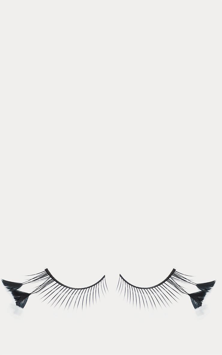 Stargazer Black Faux Feather Festival Style Eyelashes No.54 4