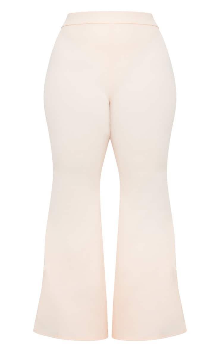 Plus Nude Extreme Wide Leg Trousers 3