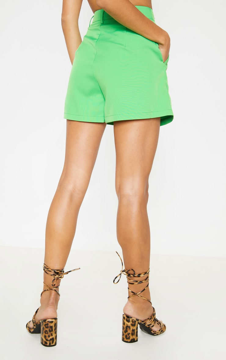 Neon Green Formal Suit Short  3