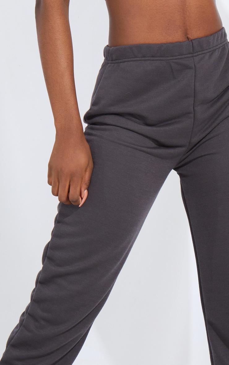 Tall Charcoal Basic Cuffed Hem Joggers 4
