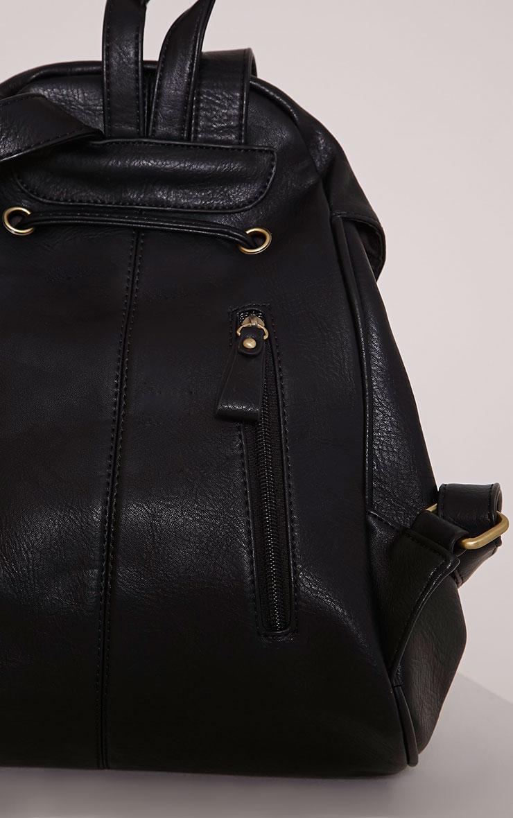 Sabria Black Backpack 5