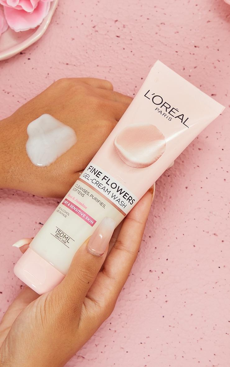 L'Oréal Paris - Nettoyant crème Fine Flowers - 150 ml 1