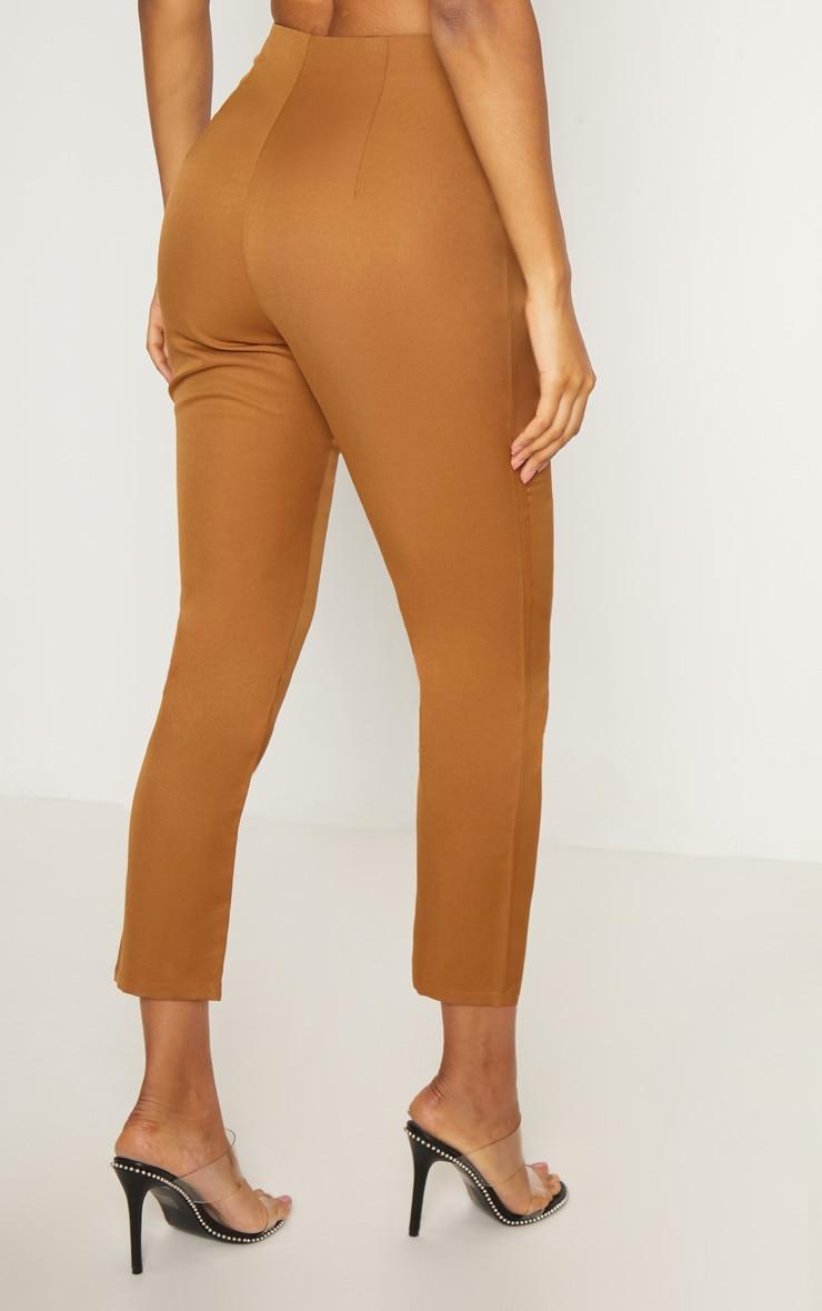 Tobacco Popper Seam Detail Skinny Pants 4