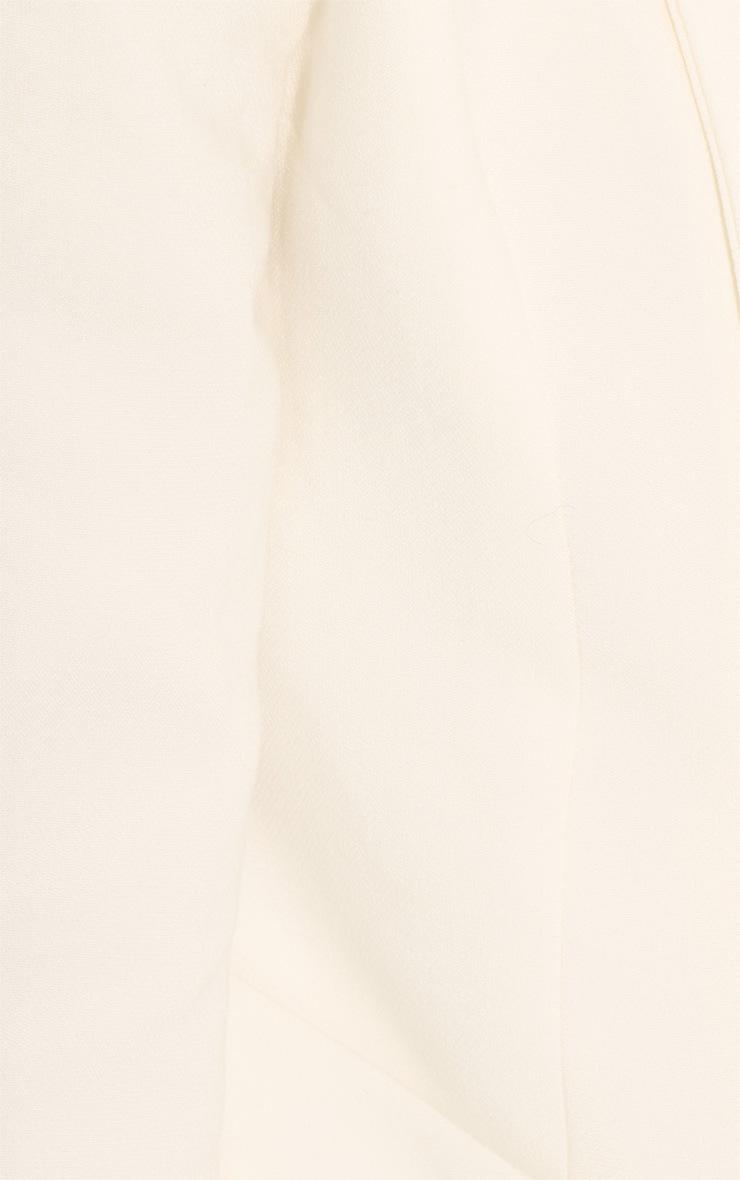 Gracy Cream Chiffon Trousers 5