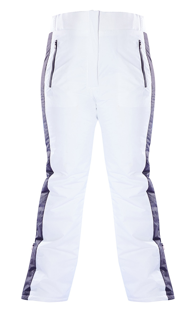 PRETTYLITTLETHING Plus Ski Monochrome Fit and Flare Ski Trousers 5