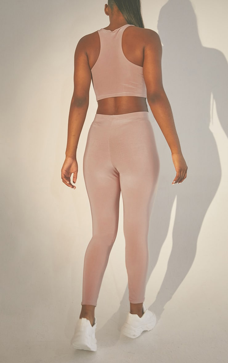 Second Skin Truffle High Waist Legging 3