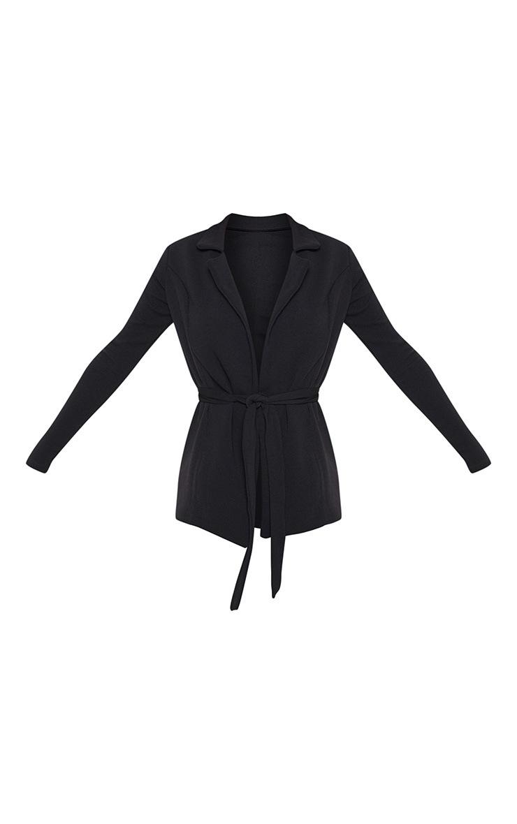 Black Belted Blazer  4