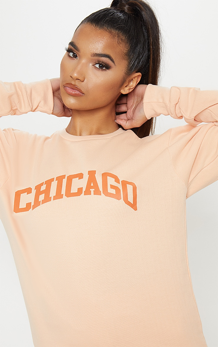 Peach Chicago Sweater 1
