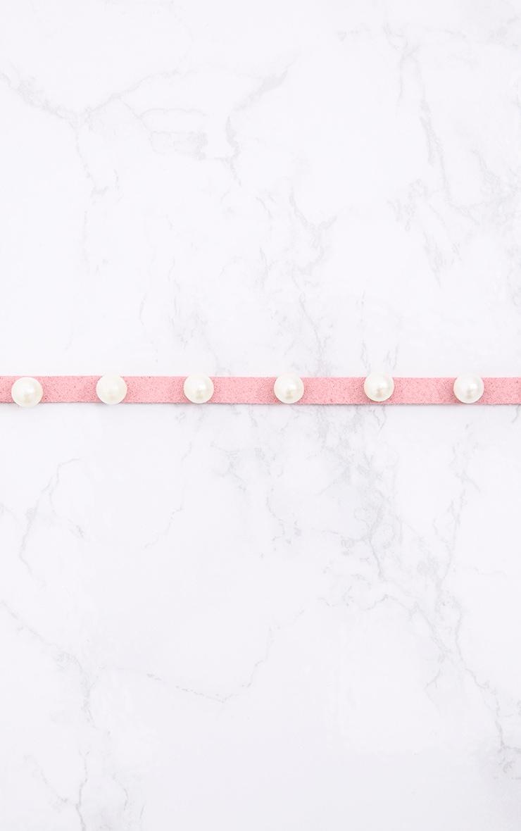 Pink Pearl Wrap Belt 4