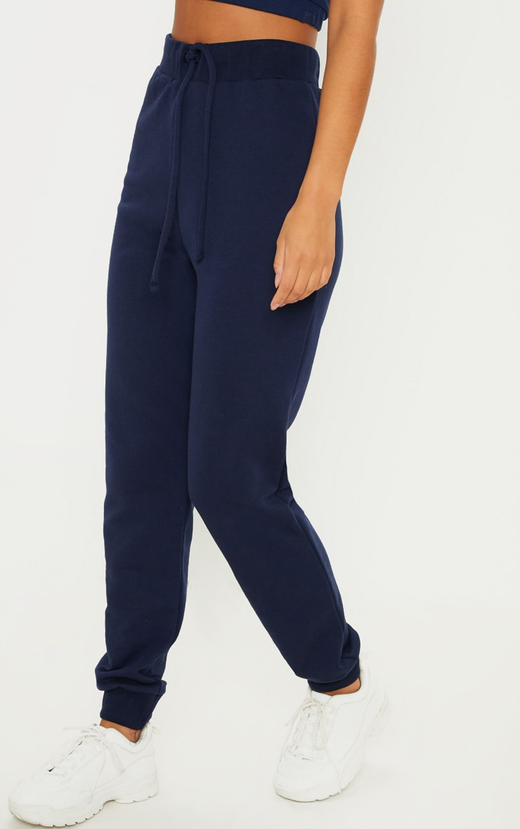Navy Ultimate Marl Sweat Joggers  2