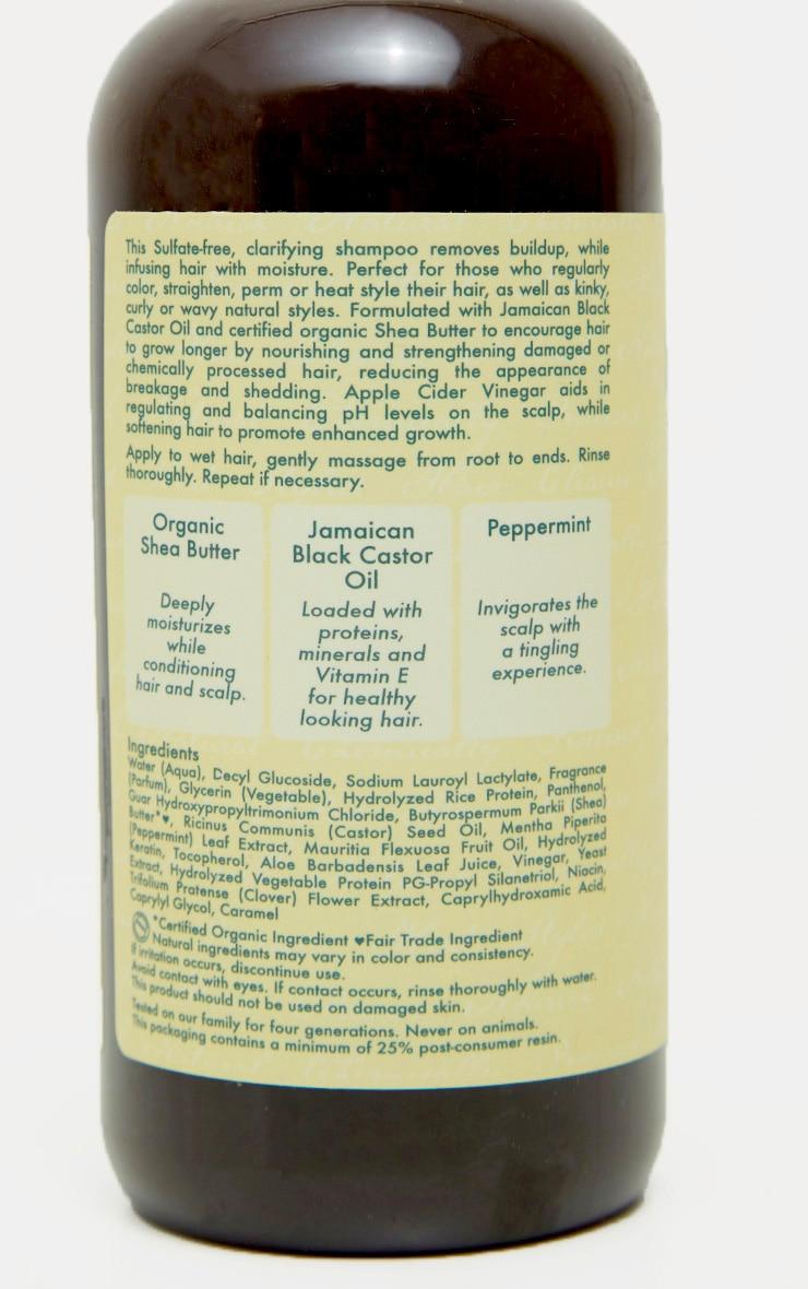 Shea Moisture Jamaican Black Castor Oil Strengthen & Restore Shampoo 3