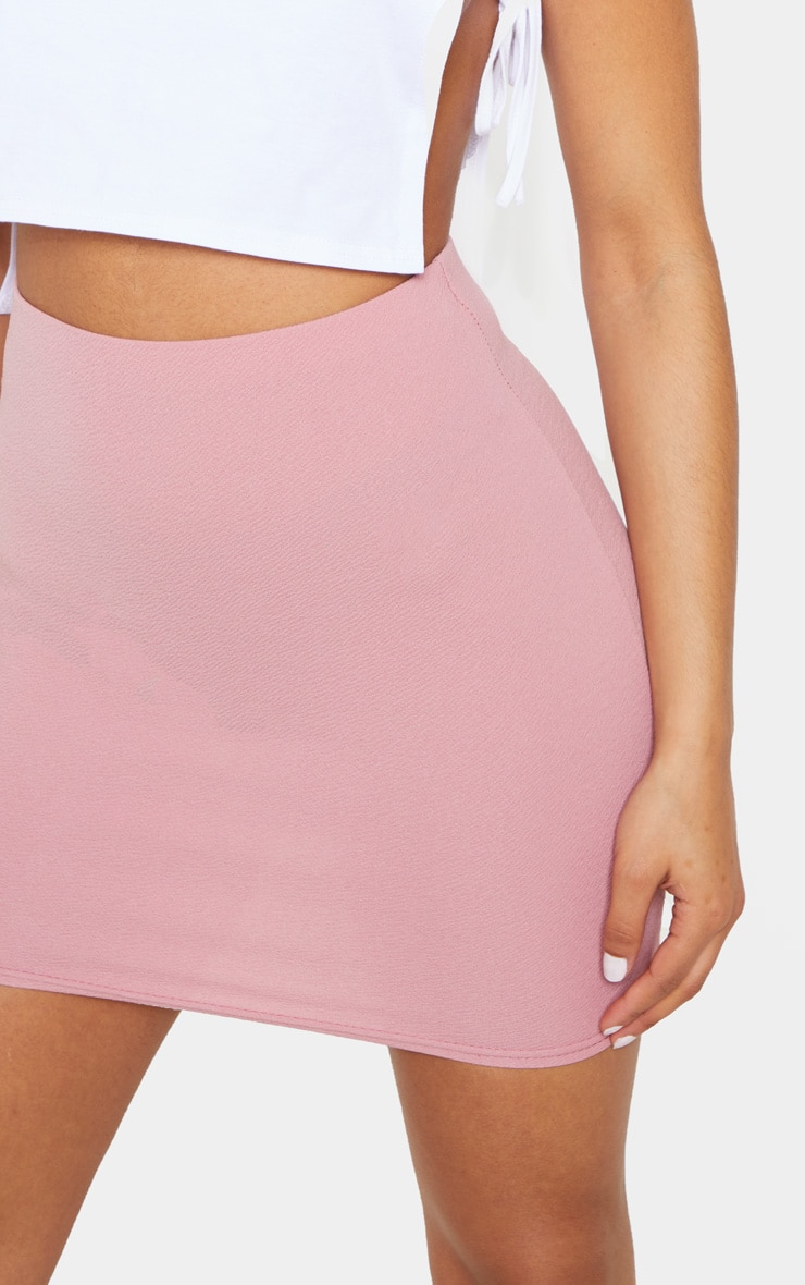 Pink Mini Suit Skirt 6