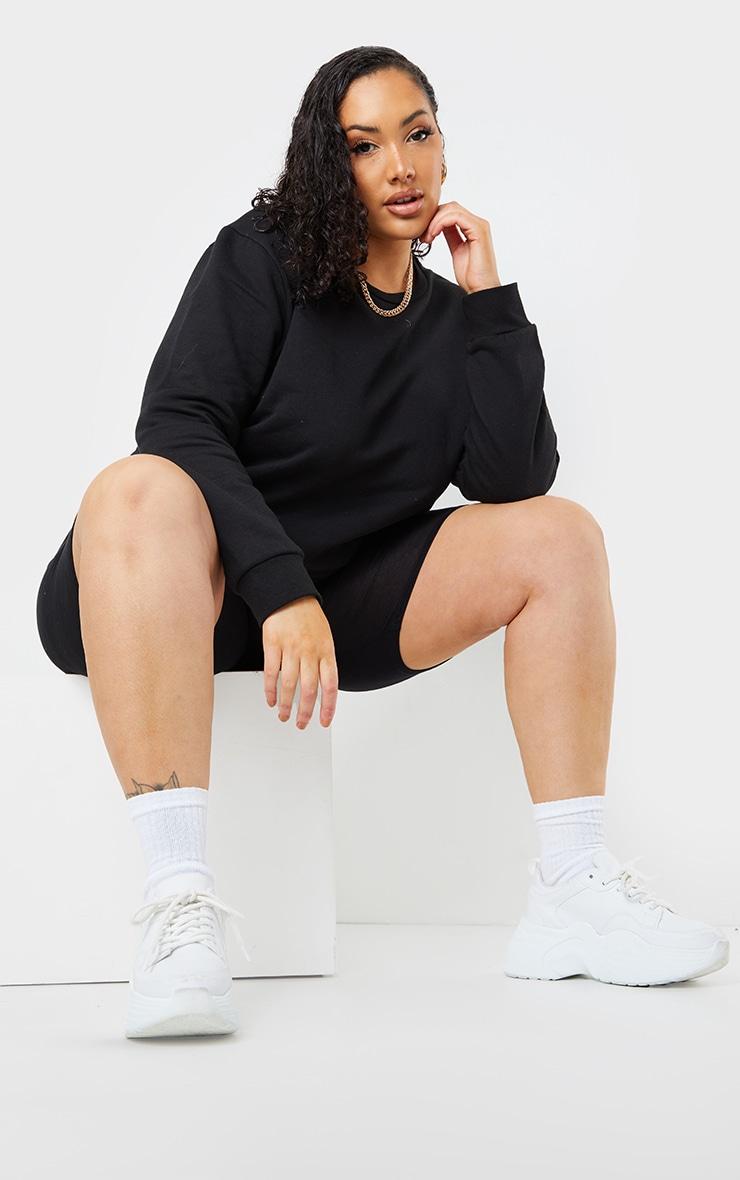 Plus Basic Black Sweater 3