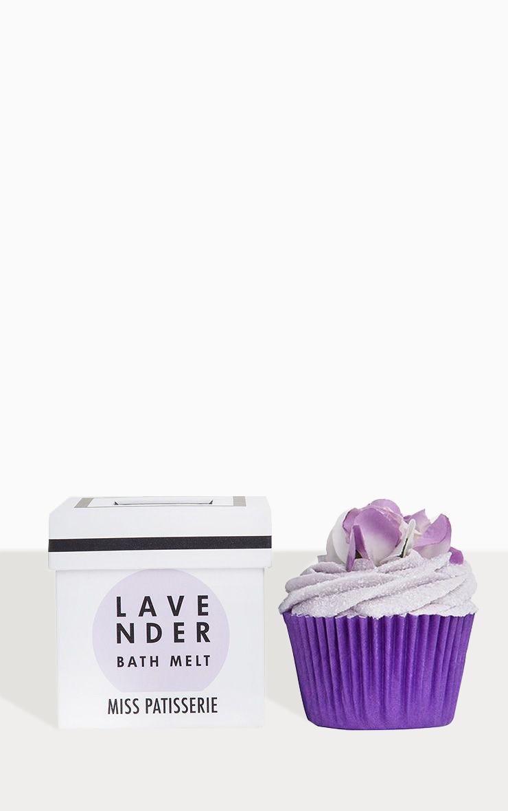 Miss Patisserie - Fondant pour le bain cupcake lavande 3