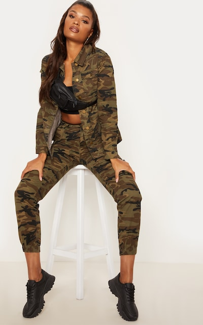 choose official top-rated official fashion style Camo Cargo Pocket Jeans