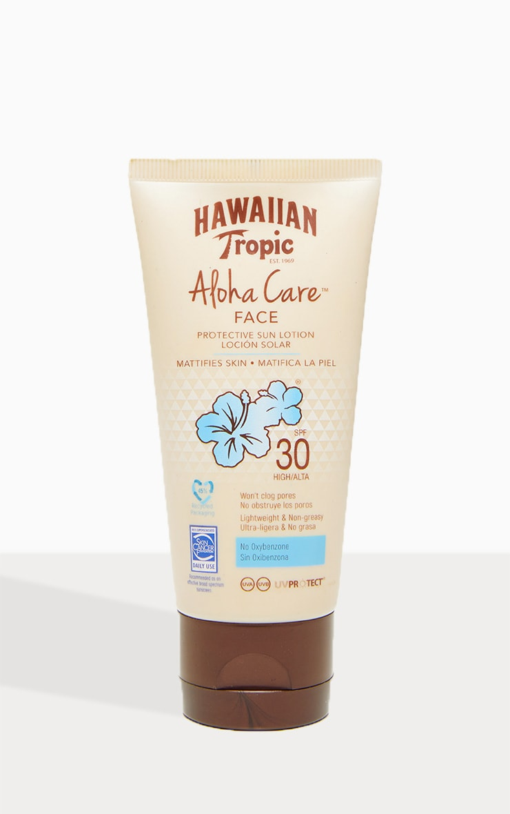 Hawaiian Tropic Aloha Care Protective Face Lotion SPF30 90ml 3