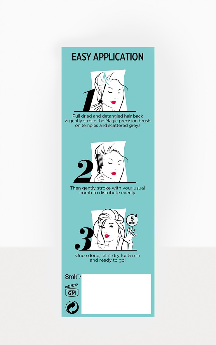 L'Oreal Paris Hair Dye Magic Retouch Instant Precision Brush Blonde 8ml 5