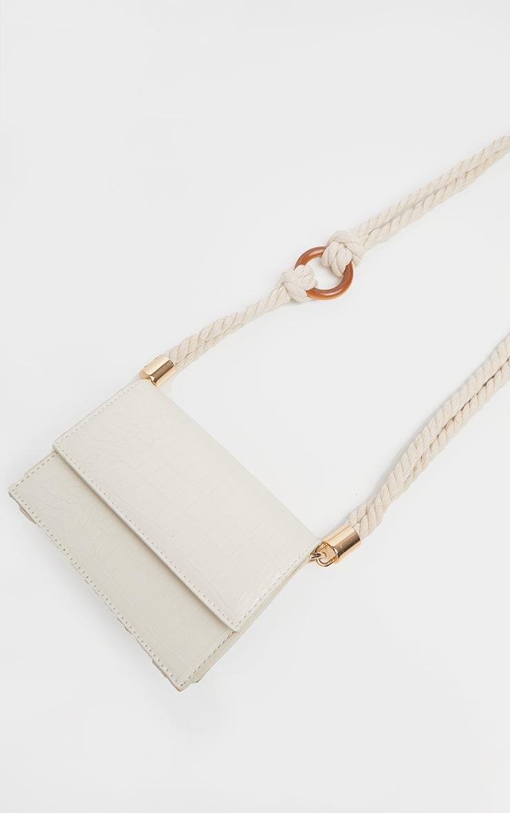 White Croc Bag 3