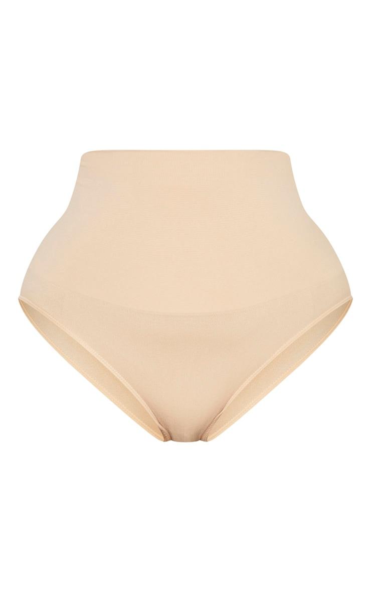 Plus Nude Seamless High Waist Control Shapewear Brief 6