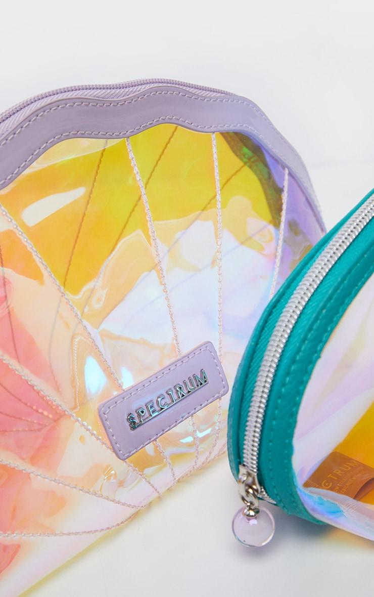 Spectrum Oceana 2 Piece Shell Makeup Bag 3