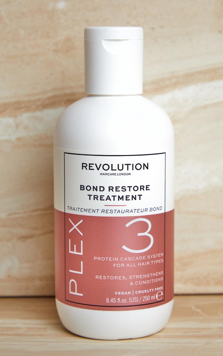 Revolution Haircare Plex 3 Bond Restore Treatment 250ml 2