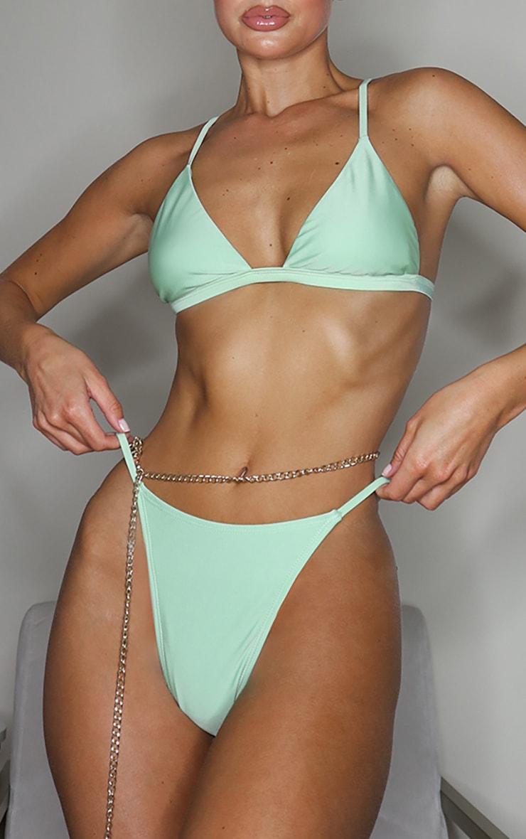 Sage Green Mix & Match Itsy Bitsy Bikini Bottoms 1