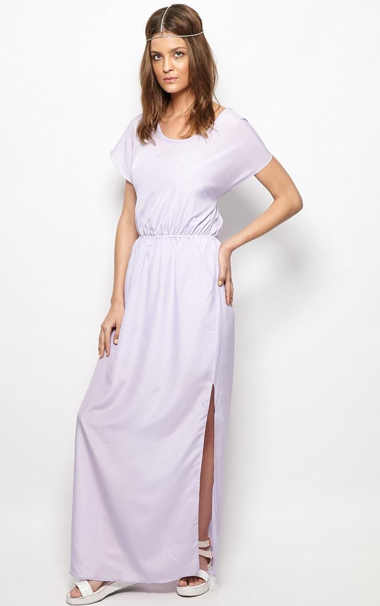 Faith Lilac Loose Fit Maxi Dress 4