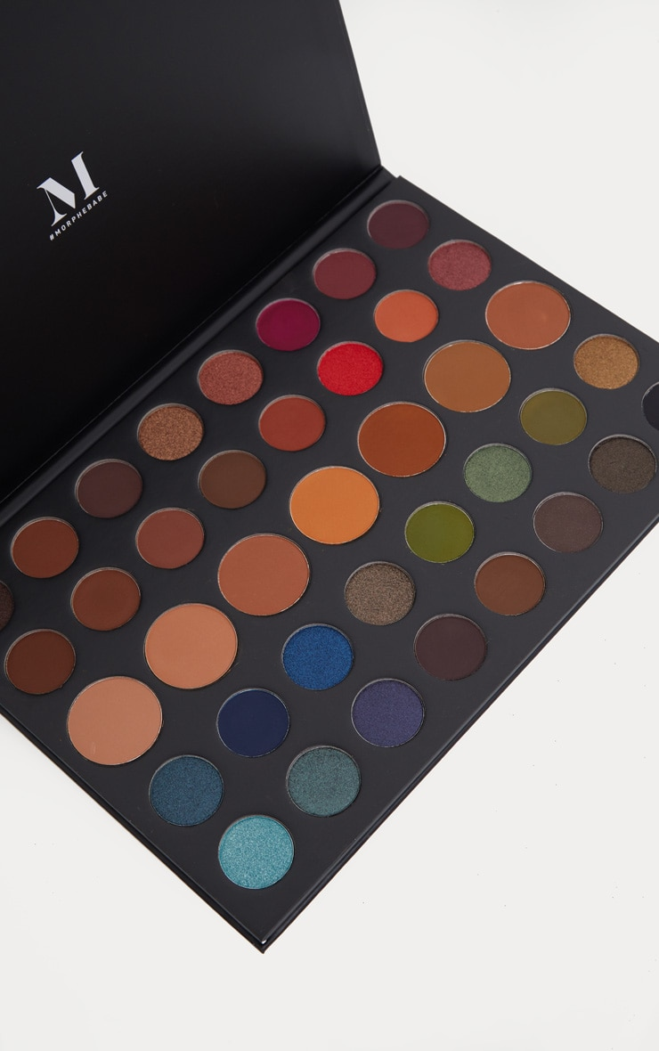 Morphe 39a Dare To Create Eyeshadow Palette 2