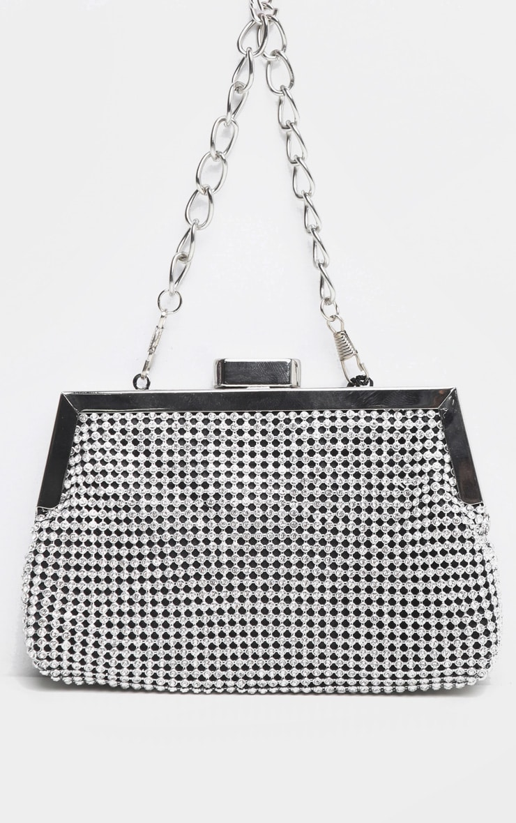Diamante Jacquard Mini Bag 2