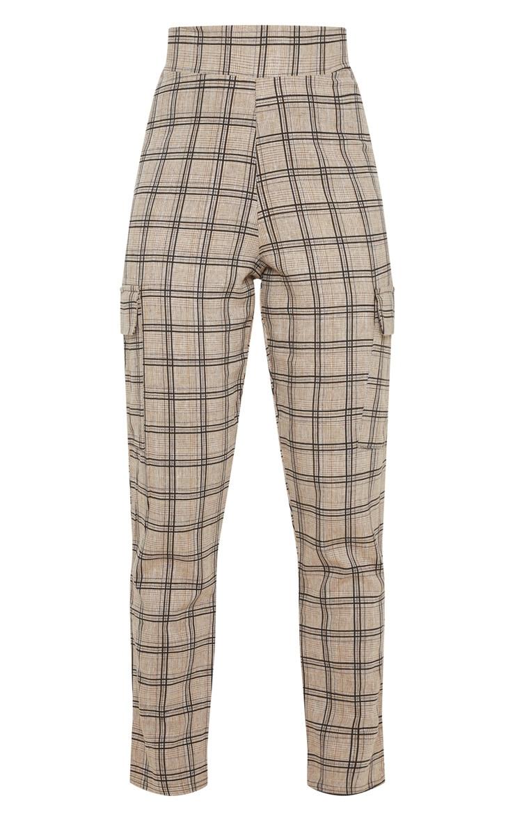 Black Peg Leg Cargo Pocket Trouser 3