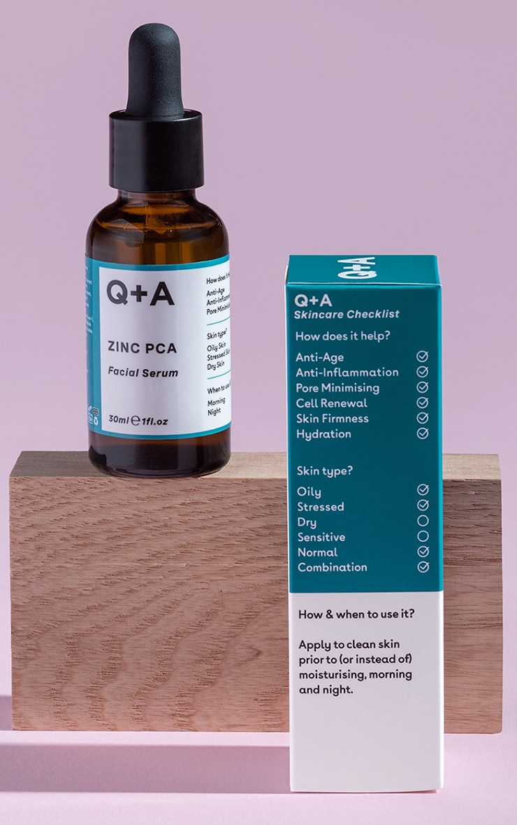 Q+A Zinc PCA Facial Serum 30ml 1