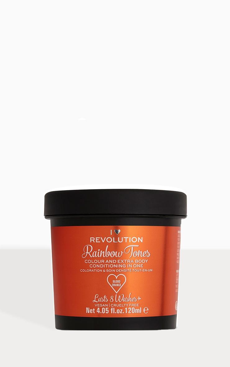 I Heart Revolution Rainbow Tones Hair Colour Blood Orange 1