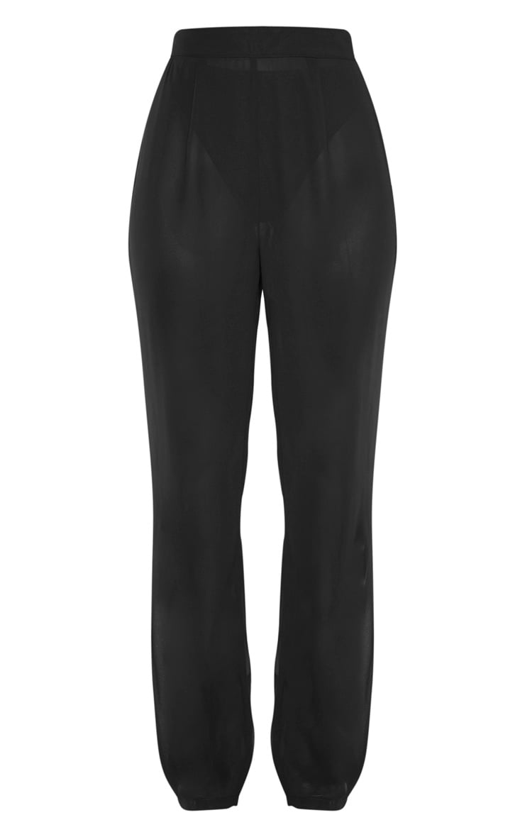 Black Beach Pants 1