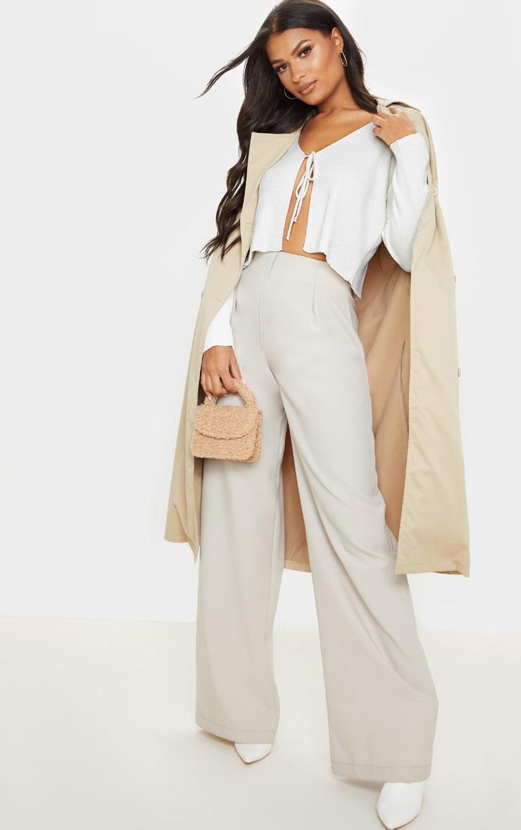 Ivory Tie Front Cardigan 4