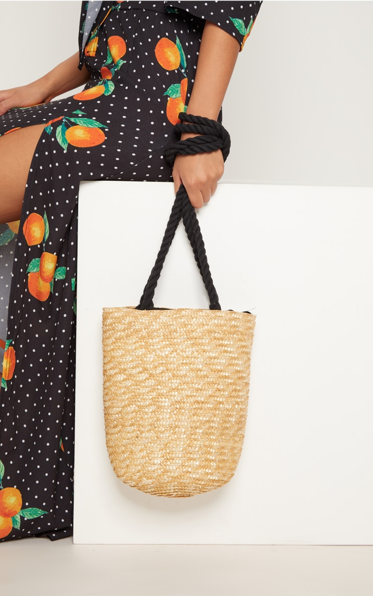Straw Bucket Bag 5